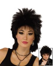 1980s Rock Idol (Black)